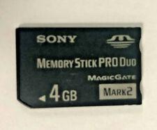 4GB Memory Stick PRO Duo Card - MS-MT4G/TQ Sony