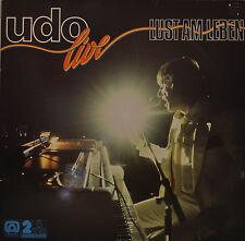 """UDO JÜRGENS - LIVE LUST AM LEBEN 12"""" 2 LP (T87)"""