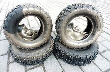 4 Quadreifen 4.10-6  und 13x5-6 für Kinder Elektro Quad ATV Reifen mit Schlauch