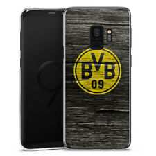 Samsung Galaxy S9 Handyhülle Case Hülle - BVB Holzoptik