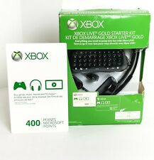 Xbox 360 GamePad and Headphones and 400 Points Card