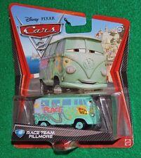 Disney Pixar Cars 2010 Diecast  #14 Race Team Fillmore New NM