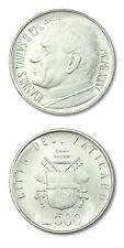 Vatican Pope John Paul II 500 Lire 1981 BU