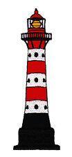 ag29 Leuchtturm Schifffahrt Aufnäher Bügelbild Patch Applikation Turm Flicken