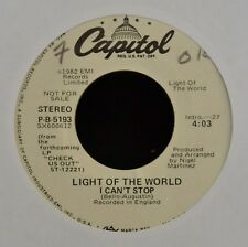 Light of the World Capitol 5193 I Can't Stop