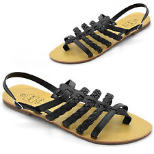 Unbranded Beach Strappy, Ankle Straps Flats for Women