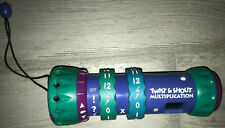Leap Frog Twist and Shout Multiplication Learning Game Math 1998