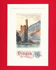 """Norddeutsche LLoyd Bremen 1938 """"Bingen"""" Speisekarte Norwegen-Fahrt D.R.L."""