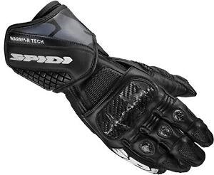 Spidi Carbo 5 Black Motorcycle Gloves - New! Free P&P!
