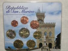 SAN MARINO  EURO KMS 1ct - 2E gemischt 2002, 2006, 2007