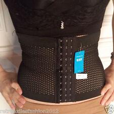 Cool SEXY Girls Slimmer Belt Waist Cincher Body Corset Soft Waist Shaper Black L