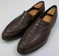 allen edmonds larkin orthotics collection brown rubber sole leather loafers 15 d