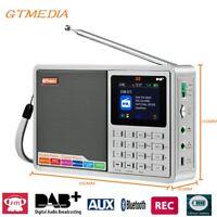 GTMEDIA D1/D2/Z3B DAB+ Radio Digital Radio FM AUX UKW Bluetooth mit LCD Display