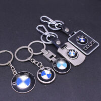 New 3D Metal Car Side Logo Keyring Keychain Key Chain Pendant Key Holder for BMW