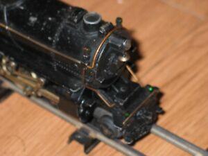 Vintage American Llyer LINES 310 Steam Engine & Tender Runs Great Brass Tender w