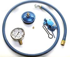 6.0L Ford Powerstroke Adjustable Fuel Pressure Kit - Cap, hose, gauge, regulator