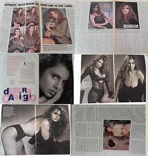 DEBORA CAPRIOGLIO_dal 1991 al 1995_hot clippings_lotto di articoli d'epoca