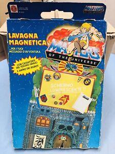 MASTERS OF THE UNIVERSE MATTEL LAVAGNA MAGNETICA NUOVISSIMA VINTAGE!!!