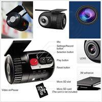 HD Mini Hidden No Screen Vehicle Tachograph Driving Camera DVR Recorder Dash Cam