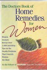 The Doctors Book of Home Remedies for Women USED in Very Fine Shape