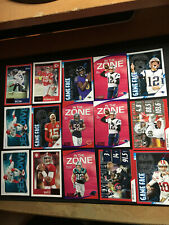 2020 Score Football NFL 15 Card Lot Mahomes, Brady, Hurts, Red Parallels Wilson