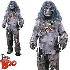Complete Zombie Age 12 13 14 Kids Halloween Fancy Dress Boys Horror Film Costume