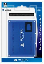 HORI Officially Licensed Card Case 12 for PS Vita Blue FREE SHIPPING