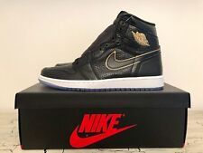 "Men Air Jordan 1 Retro High OG LA ""All-Star"" Black/Gold 555088-031"