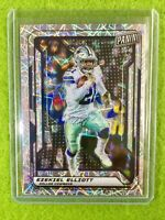 EZEKIEL ELLIOTT PRIZM CARD JERSEY #21 COWBOYS SP /99 REFRACTOR 2019 National VIP