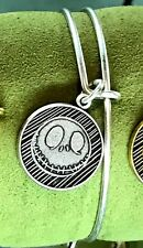 Disney Nightmare Before Christmas Jack Skellington Bangle by Alex and Ani Silver
