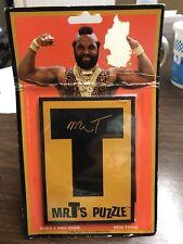 Vintage Mr. T Puzzle.  1983 A Helman & Reinstein  Product Hard Plastic Puzzle
