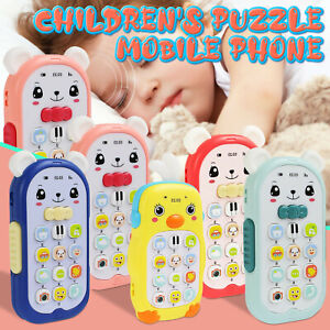 Music Mobile Phone Gutta-percha Toy Kids Baby Early Electric Educational Toy
