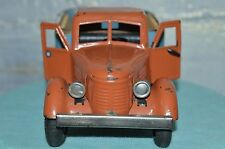!!! RRR ANTIQUE ULTRA RARE TOY 1950s !!! VTG Russian Soviet car metal Truck TIN
