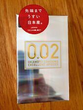 OKAMOTO 002 0.02 EX Condom Regular Size 6pcs Made in Japen (US Seller)