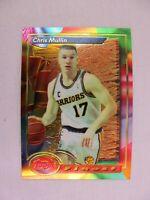 Chris Mullin Golden State Warriors 1994 Topps Finest Basketball Card 176
