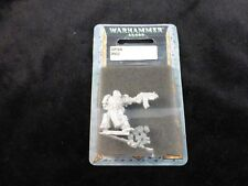Limited Release 40K 'Promo' Black Templars Captain Draco Metal Blister Pack