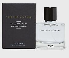 ZARA VIBRANT LEATHER FOR MEN Eau De Parfum Edp Fragrance Perfume 60ml