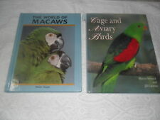 CAGE AND AVIARY BIRDS & THE WORLD OF MACAWS
