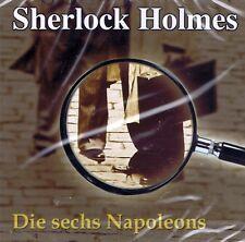 HÖRBUCH-CD NEU/OVP - Sherlock Holmes - Die sechs Napoleons