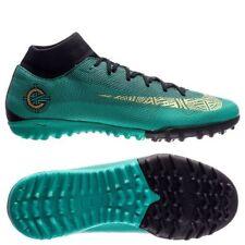 Nike Mercurial Cr7 Ronaldo SuperflyX Vi Tf Turf 2018 Df DynFit Soccer Shoes Teal