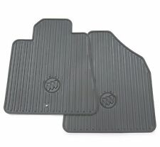 2012-2017 Buick Enclave GM OEM All Weather Floor Mats w/ Logo - Titanium - NEW