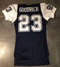 b5ed86ddde4 Dallas Cowboys Dwayne Goodrich Autographed Game Issued Reebok Jersey Size  46 Lb