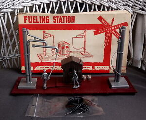 Vintage Marx Toys Diesel Fueling Station No. 1450 Railroad Accessory