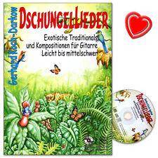 Dschungellieder - Songbook mit CD - Acoustic Music - AMB3143 - 9783869473437