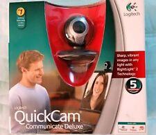 Logitech QuickCam Communicate Deluxe Webcam - New / Sealed