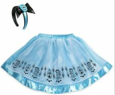 Disney Store Alice in Wonderland Tutu Set Headband Tweens Size 7/8 Nwt Costume