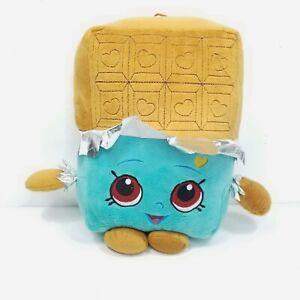 "Shopkins Plush Cheeky Chocolate Brown Blue Large 11"" Moose Stuffed Animal Pillow"