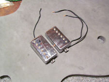 "GIBSON ""THE ORIGINAL"" HB-R & HB-L PICKUP SET CHROME COVERS 1980'S CIRCUIT BOARD"