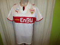"""VfB Stuttgart Original Puma Heim Trikot 2008/09 """"EnBW"""" Gr.S- M TOP"""