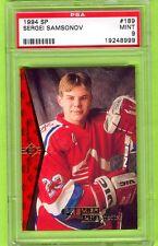 1994 Upper Deck SP Sergei Samsonov #189 Rookie RC PSA 9 Mint